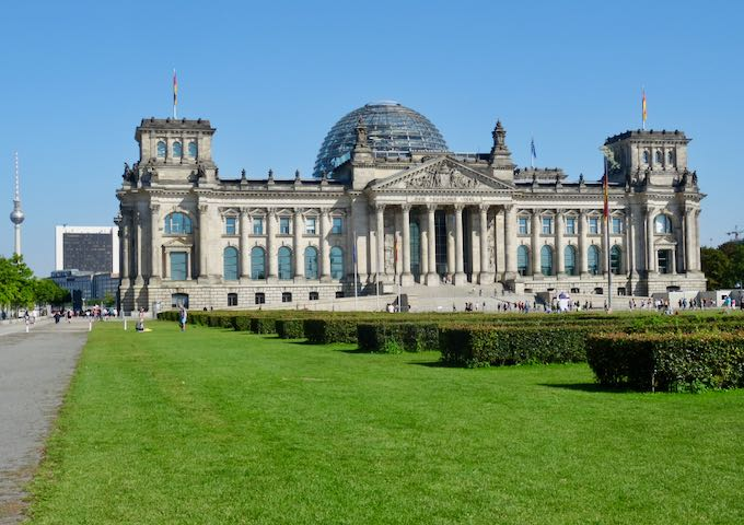 Experiencing the dome at the Bundestag is a must.