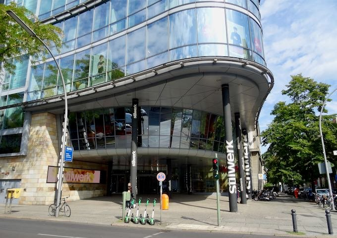 Stilwerk is a designer department store with secure parking.