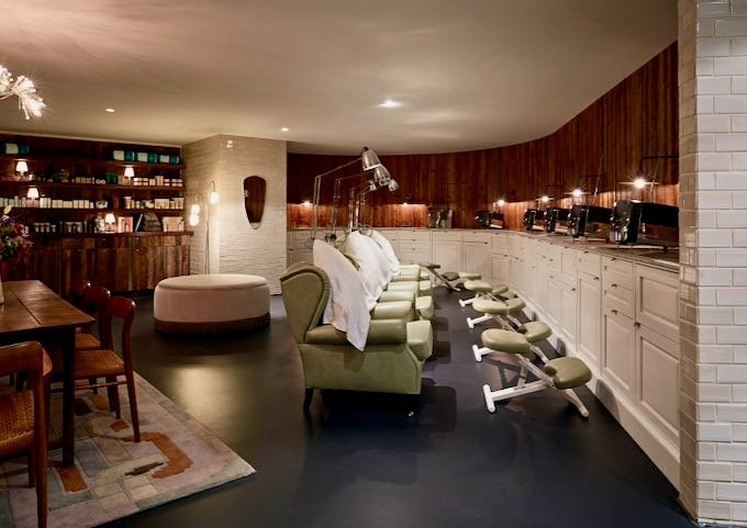 The spa has an excellent selection of treatments.