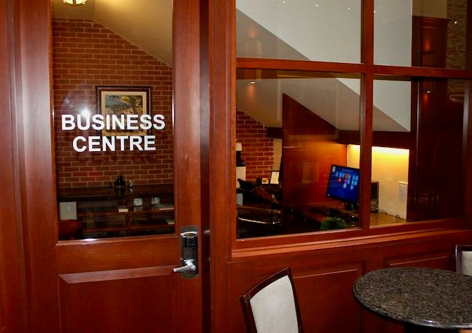There is a business center on-site.