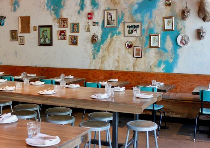 Native Tongues is an exciting Mexican restaurant.