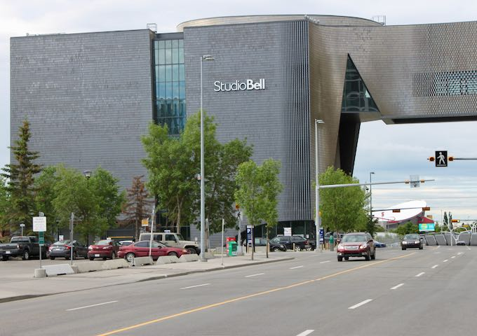 Studio Bell is the home of the National Music Centre.