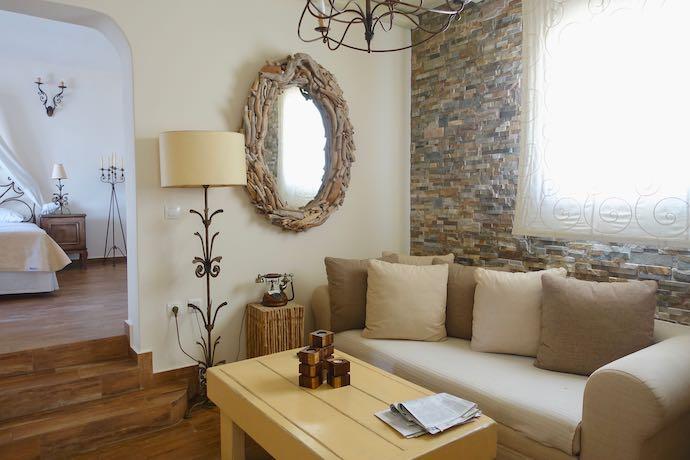 Suite at Villa Isabella in Paros