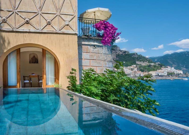 Best hotels in Amalfi Coast