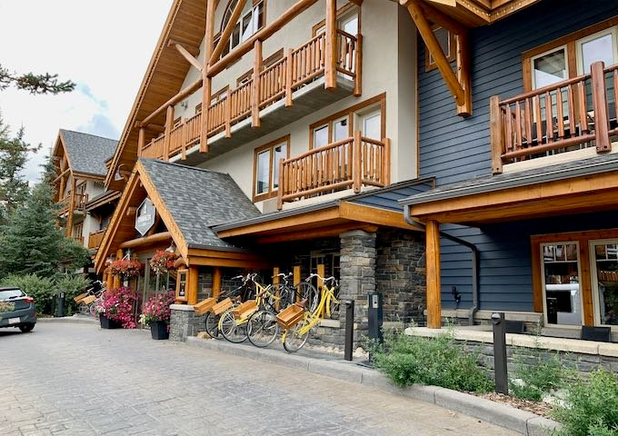 Canalta Lodge in Banff.