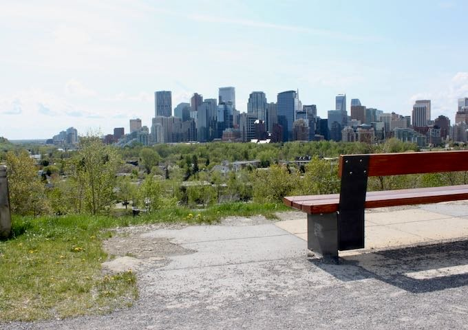 Crescent Heights offers great views of Calgary.