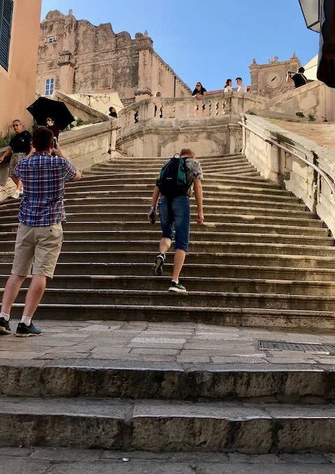 These stairs were pictured in Game of Thrones.