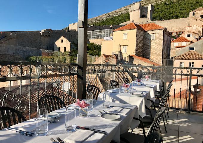 Review of Stari Grad Hotel in Dubrovnik, Croatia.