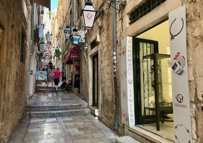 Dubrovnik Treasures sells jewelry made by local designers.