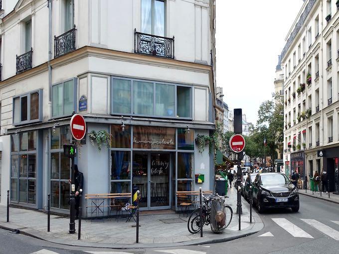 Le Mary Celeste restaurant and oyster bar in Paris