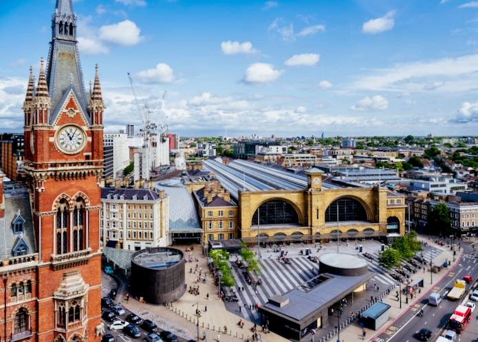 Hotels close to St Pancras Kings Cross train station