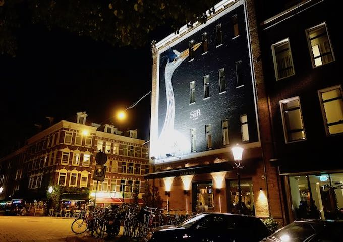 Sir Albert Hotel in De Pijp