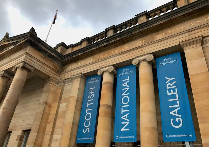 The Scottish National Gallery is known for its Renaissance art collection.