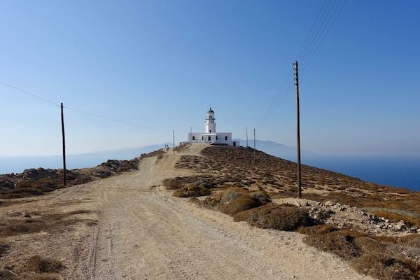 Armenistis Lighthouse in Mykonos