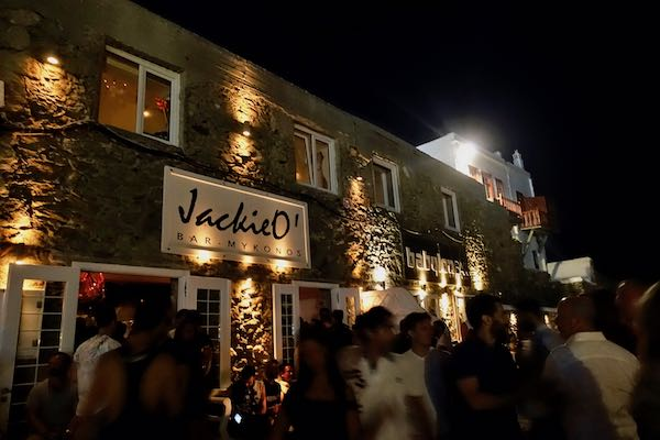 Jackie O and Babylon in Mykonos Town