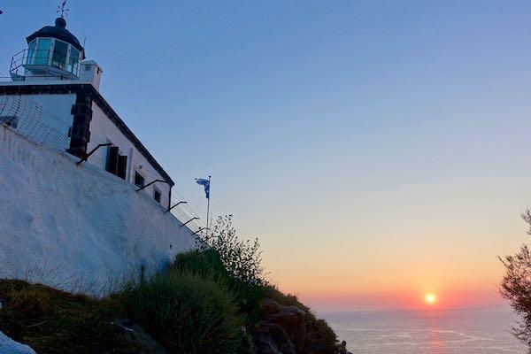 Sunset at the Akrotiri Lighthouse