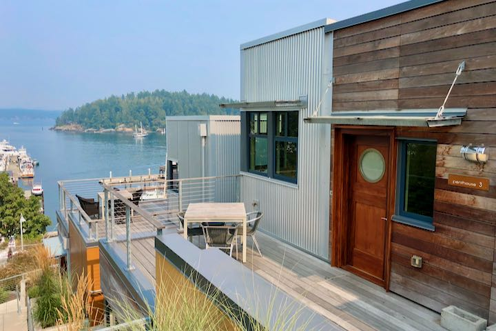 Great hotel in Friday Harbor with view.