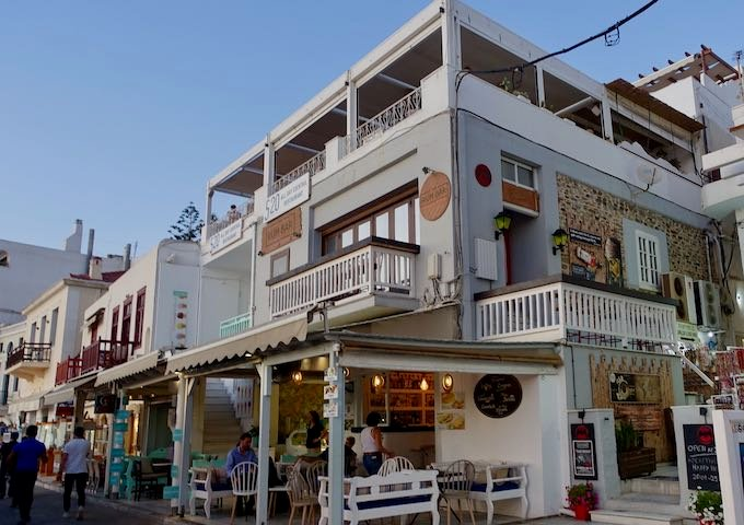 The Rum Bar in Naxos Town