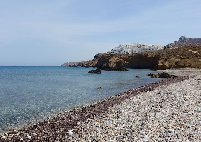 Grotta Beach in Naxos
