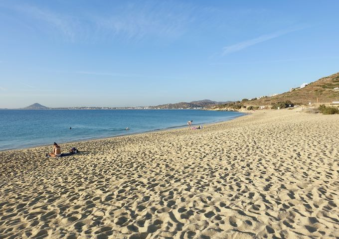Mikri Vigla Beach in Naxos