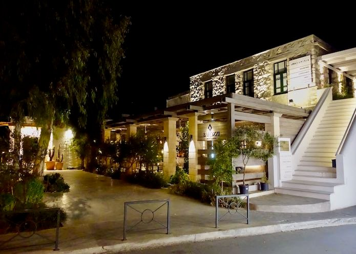 Barozzi Restaurant and Cocktail Bar in Naxos Town
