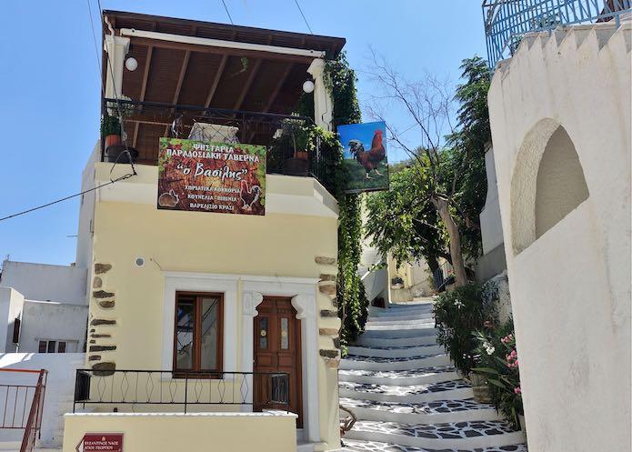 O Vasilis restaurant in Melanes