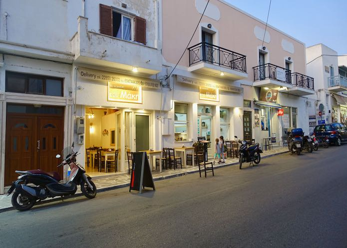 To Souvlaki to Maki restaurant in Naxos Town
