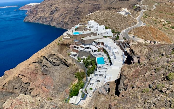 Best Santorini Hotel with Infinity Pool and Solitude.
