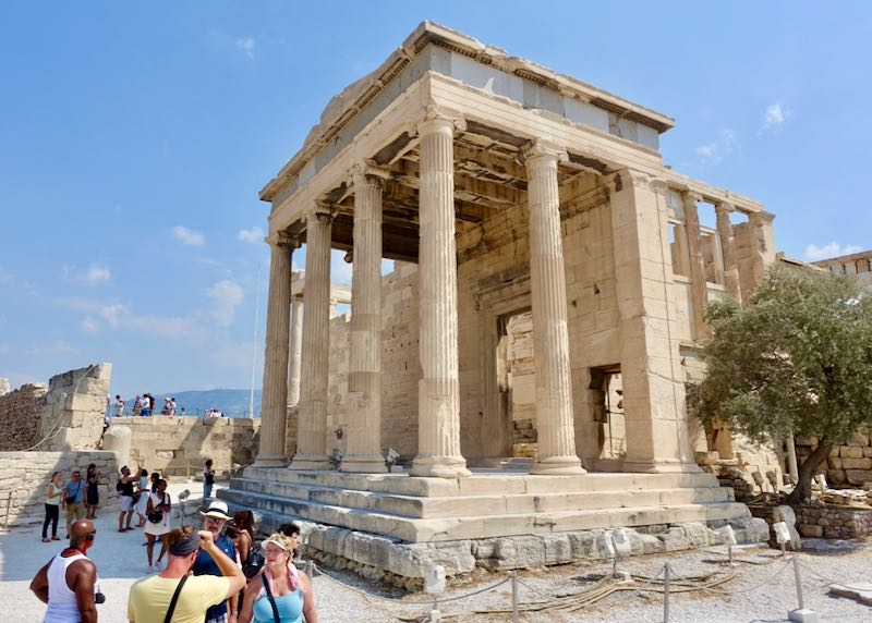 Acropolis in Athens, Greece.