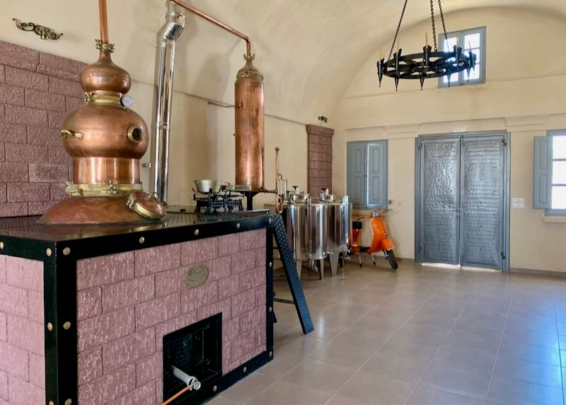Canava Ouzo Distillery, Museum, and Tours in Santorini, Greece