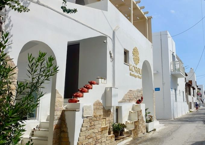 Korali Boutique Hotel near Agios Georgios Beach in Naxos