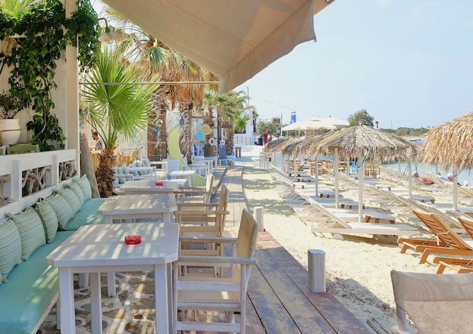 Iria Beach Art Hotel at Agia Anna Beach in Naxos