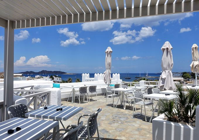 Kanale's Rooms and Suites in Naoussa, Paros