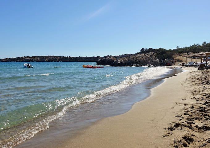 Faragas Beach in Paros, Greece