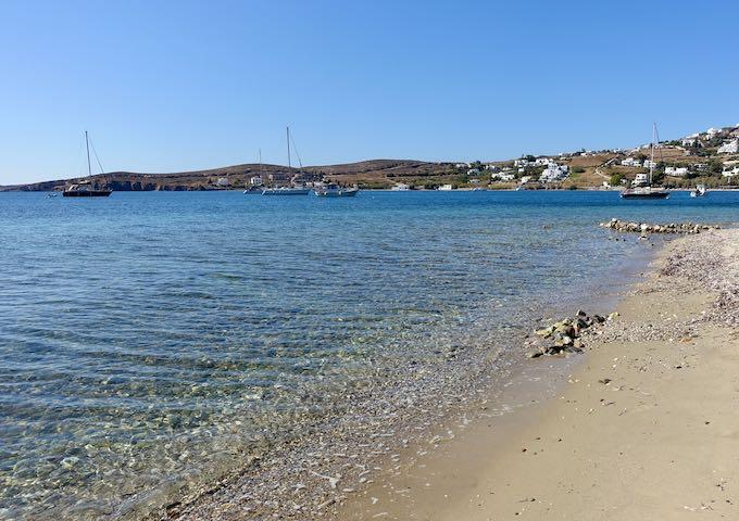 Livadia Beach in Paros