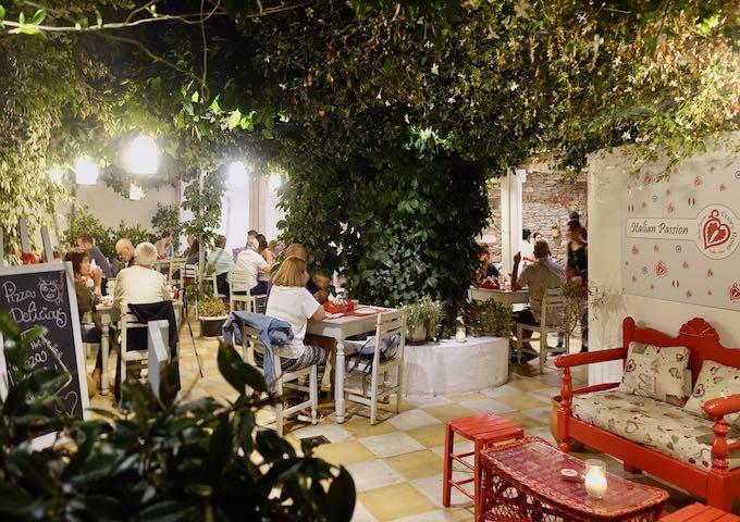 Cuore Rosso Italian restaurant in Parikia, Paros