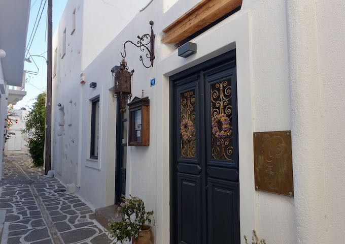 Stou Fred in Parikia, Paros