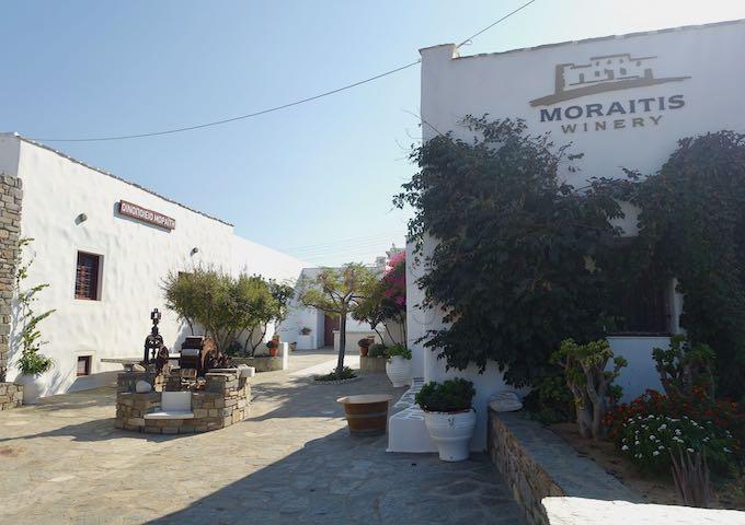 Moraitis Winery in Naoussa, Paros
