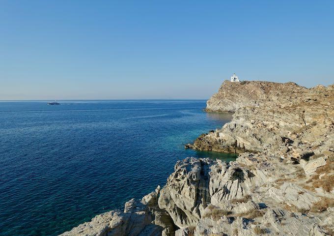 The lighthouse at Paros Park