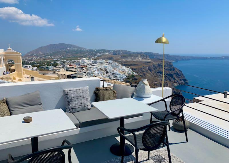 Santorini Hotel with Caldera View.