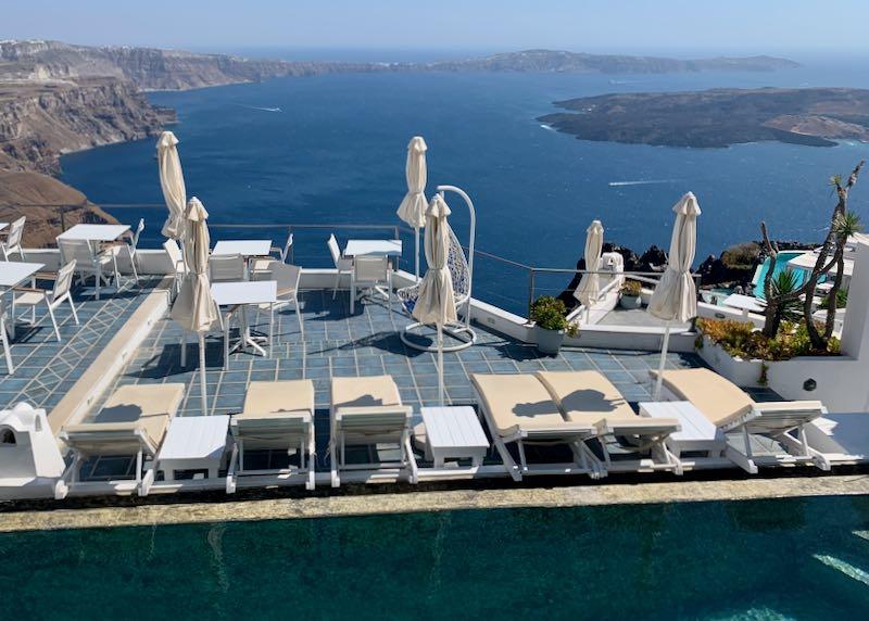 Luxury Resort with Caldera View.