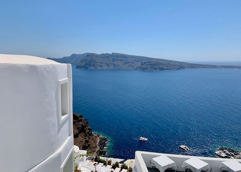 Santorini Accommodations with Caldera View