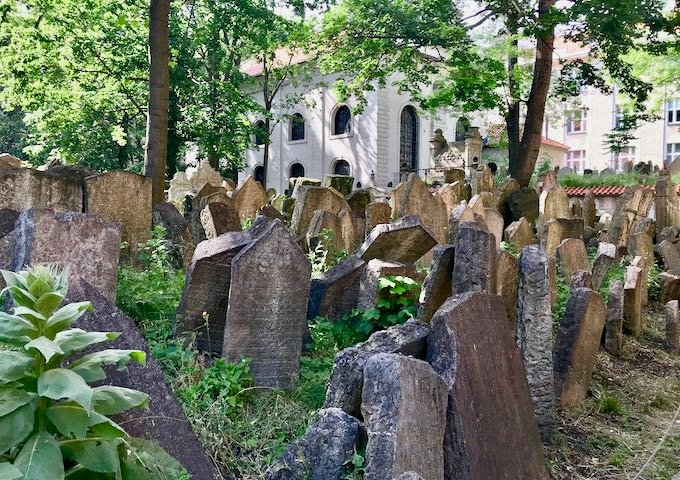 The Old Jewish Cemetery is very interesting.