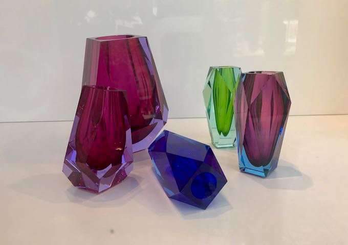 Moser sells interesting glass pieces.