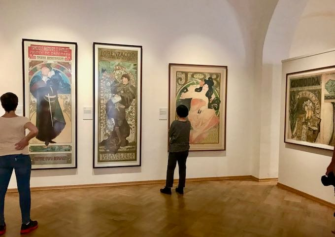 The Mucha Museum is fun to visit.