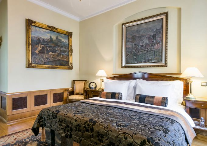 Deluxe Rooms are spacious and beautiful.
