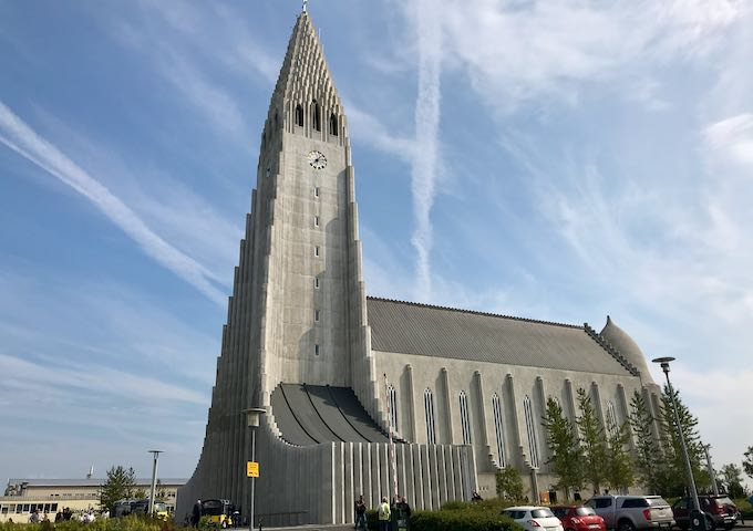 Hallgrímskirkja and its tower are world-famous.
