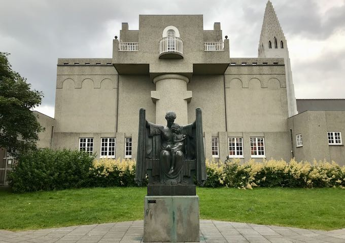 Einar Jónsson Museum is dedicated to Iceland's most famous sculptor.