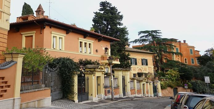 Hotel San Anselmo in the Testaccio area
