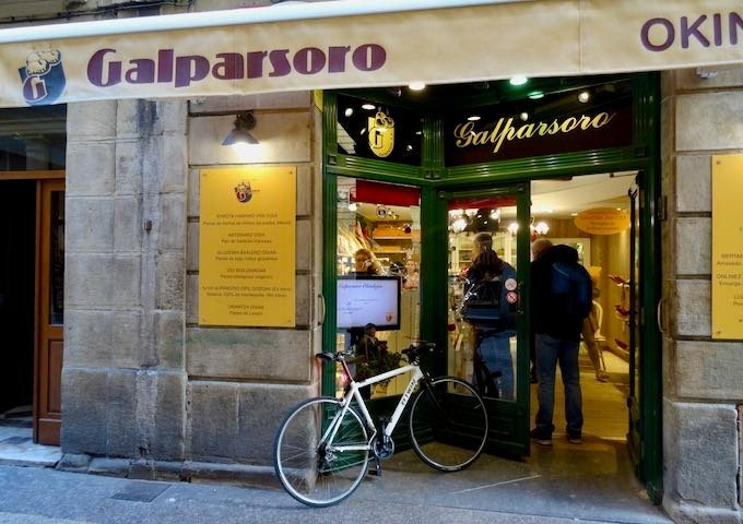 Galparsoro is arguably the city's best bakery.